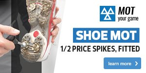 Shoe MOT - 1/2 Price Spikes, Fitted